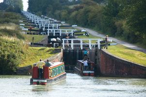 Hatton Locks. Photo by Warwick District Council