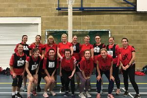 Southwater Netball Club. Picture courtesy of Niamh Arnett