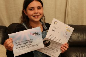 Rosie Jeffs was flown by Warwickshire & Northamptonshire Air Ambulance (WNAA) after she sustained life threatening multiple injuries. Now she is heading up the Air Ambulance Service's Christmas appeal.