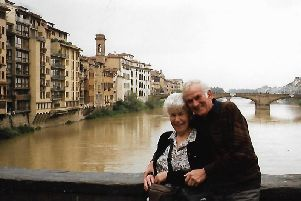 Ronald Lovell and his wife Edna.
