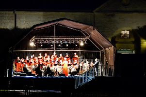 Carols at the Castle. Photo by Gill Fletcher