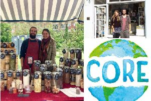 Alex and Beth will be officially opening their store Core in Leamington tomorrow (Saturday November 30). Photos by Core