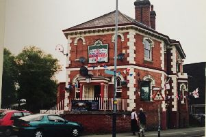 The Great Western Pub on June 4 2006 during the FIFA World Cup. Photo by Peter Sumner.