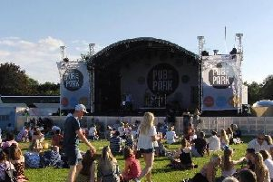 Pub in the Park will be returning to Warwick in June. Photo by Geoff Ousbey