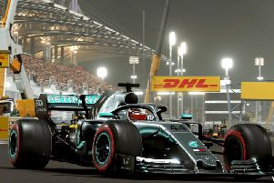 Image from F1 2019 created by Codemasters