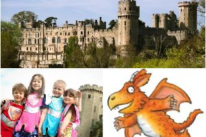 Zog will be heading to Warwick Castle. Photos supplied by Warwick Castle