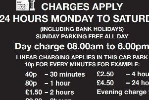 Kenilworth car park charges