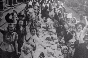 A VE Day party in Leamington