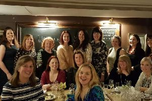 Members of the Kenilworth Ladies Circle kicked off their group's year with a meal atHarringtons on the Hill restaurant in Kenilworth.