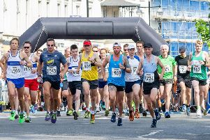 The Leamington Half Marathon takes place in July.