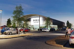 Plans for a new Marks & Spencer foodhall off the A259