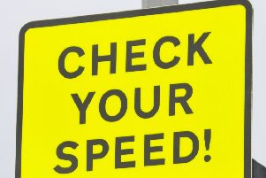 Check your speed sign