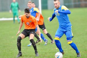 Chris Darwin netted in Rustington's draw with Westfield. Picture: Stephen Goodger