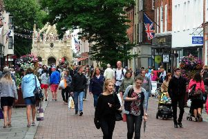 Chichester high street. Pic: Kate Shemilt