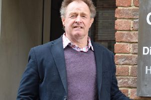 Chichester district councillor for Fishbourne, Adrian Moss