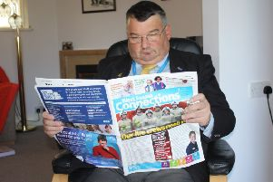 Lib Dem County Councillor Bob Smytherman is calling for WSCC's Connections magazine to be scrapped. SUS-190201-105340001