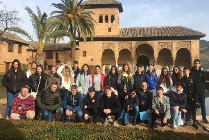Our Lady of Sion students on their trip to Granada in Spain