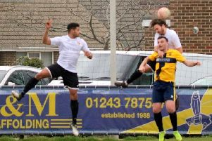 Pagham v Eastbourne Town action / Picture by Roger Smith