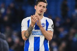 Lewis Dunk. Picture by PW Sporting Photography