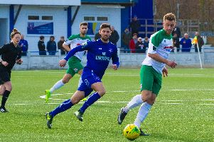Keaton Wood back in the Bognor starting line-up at Margate / Picture by Tommy McMillan