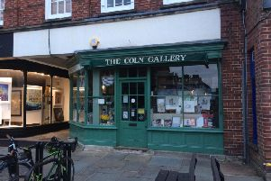 The Coln Gallery in North Street, Chichester