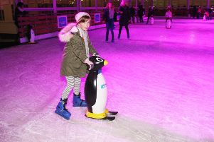 DM18113235a.jpg. Opening of Chichester Ice Rink in Priory Park. Photo by Derek Martin Photography. SUS-181130-185559008