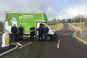 The new section of the Queensway Gateway road provides a new access to Emmaus Hastings and Rother's charity superstore.