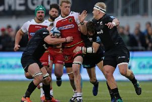 David Ribbans has not played for Saints since the defeat at Saracens on March 2