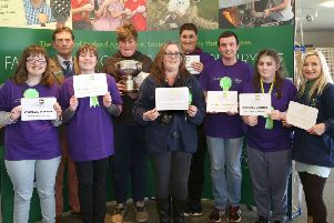 Woodlands Meed College winners. Photo: Mike Webster