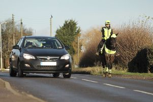 Over the last year there have been more than 800 road safety incidents involving horses reported to the British Horse Society
