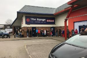 The Range, celebratedthe opening of its highly-anticipated new superstore in Aylesbury today.