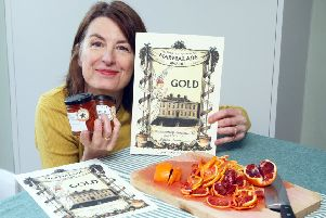 Jaki Morris from Perfectly Preserved wins two golds at the World's Original Marmalade Awards. Photo by Derek Martin DM1932884a