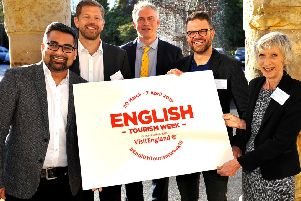 """The Launch of West Sussex """"English Tourism Week"""" at Leonardslee. Pic Steve Robards SR1908797 SUS-190304-144907001"""