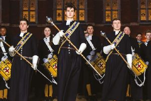 The Marching Band of Christ's Hospital