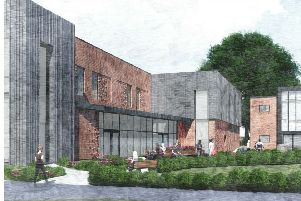 Plans for a two storey general teaching block at the College of Richard Collyer
