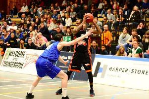 Alex Owumi was top scorer with 29 points hitting 14 points in the last quarter