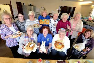 The team behind Southlanders Community Cafe celebrate a successful year. Picture: Kate Shemilt ks190209-1