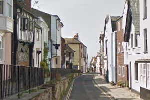Police found Huntley with cocaine and cannabis at an address in All Saints' Street. Picture: Google Streetview