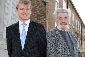 Paul Yallop and Tom Wye, pictured together in 2013