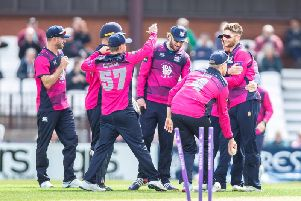 The Steelbacks had some reasons to celebrate but they were eventually beaten by Worcestershire