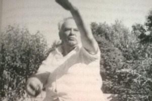 Sir Patrick in his cricketing days