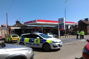 Emergency services attended the scene this morning (Thursday).