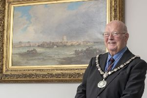 New Adur District Council chairman George Barton