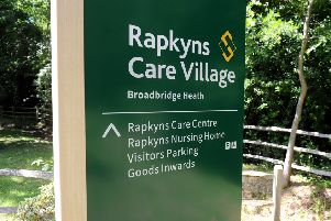 Rapkyns Care Centre in Broadbridge Heath has been rated 'inadequate'  SR1713886 SUS-170613-154720001
