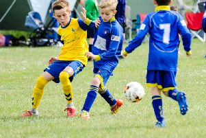 Action from the Felpham tournament / Picture by Colin Farmery