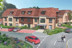 Replacement care home at Beech Hurst Nursing Home site in Butlers Green Road, Haywards Heath