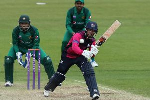 Saif Zaib hit a half-century for Northants