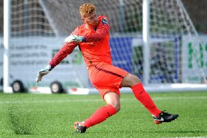 Josh James in action for Horsham. Picture by Steve Robards