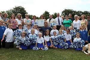 St Peter and St Paul's CofE Primary School, in Burgh le Marsh, 10 years ago.