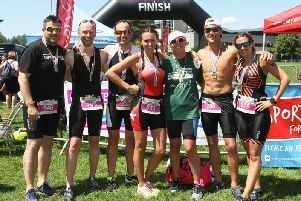 Some of last year's finishers / Picture by Derek Martin